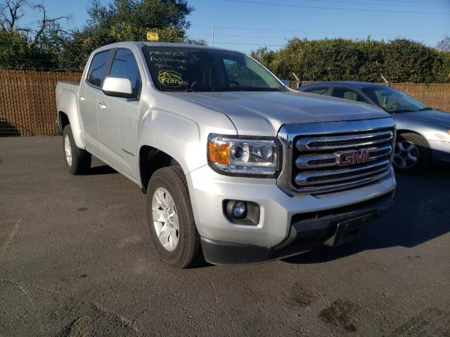 Salvage cars for sale from Copart San Martin, CA: 2018 GMC Canyon SLE