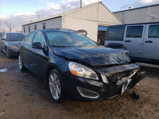 Salvage cars for sale from Copart Hillsborough, NJ: 2013 Volvo S60 T5