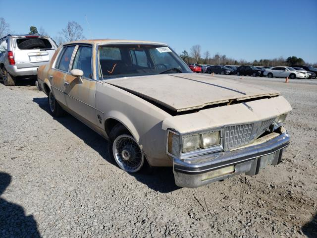Oldsmobile salvage cars for sale: 1981 Oldsmobile Cutlass SU