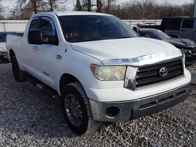 Salvage cars for sale from Copart Rogersville, MO: 2007 Toyota Tundra DOU