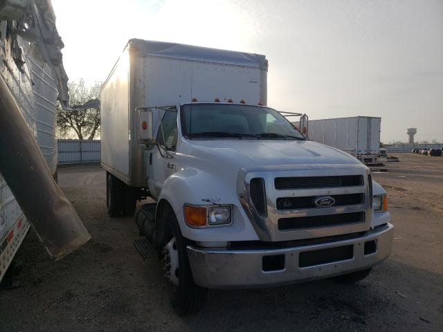Salvage cars for sale from Copart Mercedes, TX: 2006 Ford F650 Super