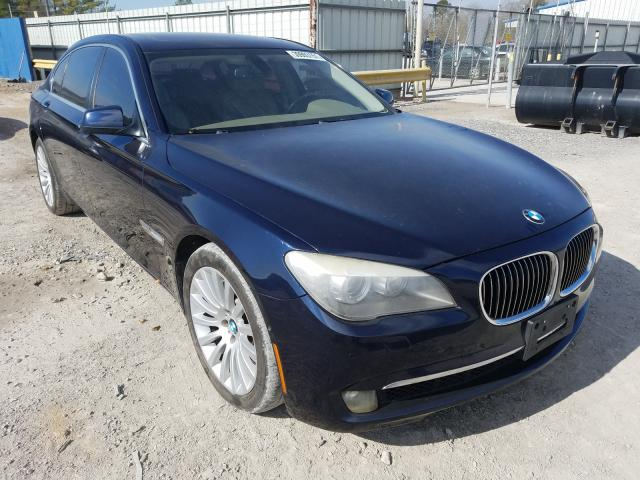 BMW 750 LI salvage cars for sale: 2010 BMW 750 LI