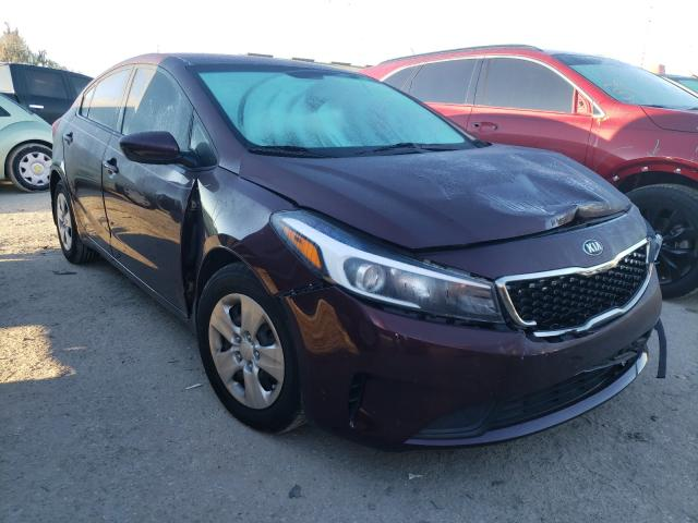 Salvage cars for sale from Copart Riverview, FL: 2017 KIA Forte LX