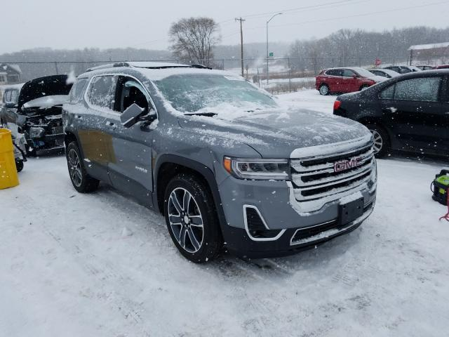 Salvage cars for sale from Copart Madison, WI: 2020 GMC Acadia SLT