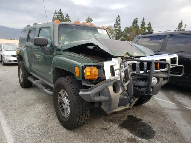 Salvage cars for sale from Copart Rancho Cucamonga, CA: 2006 Hummer H3