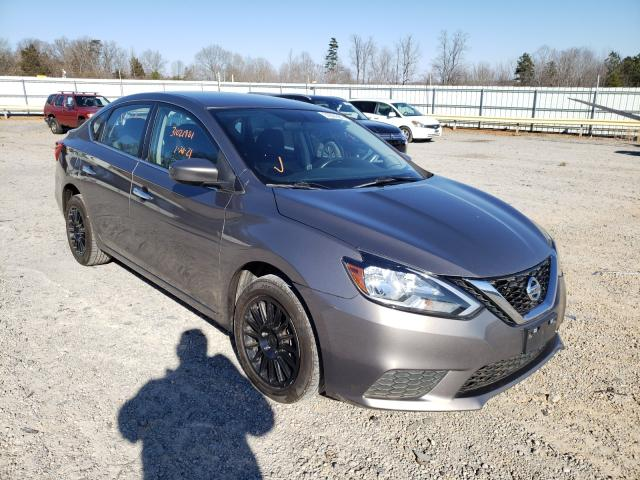 Salvage cars for sale from Copart Chatham, VA: 2016 Nissan Sentra S