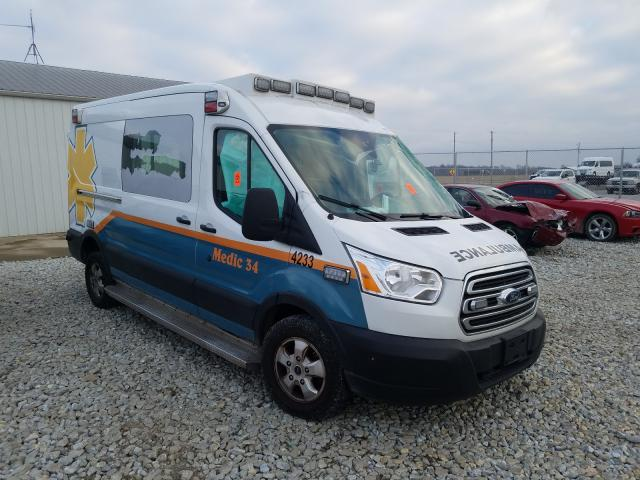 Salvage cars for sale from Copart Cicero, IN: 2019 Ford Transit
