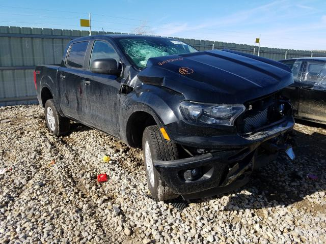 Salvage cars for sale from Copart Kansas City, KS: 2020 Ford Ranger SUP