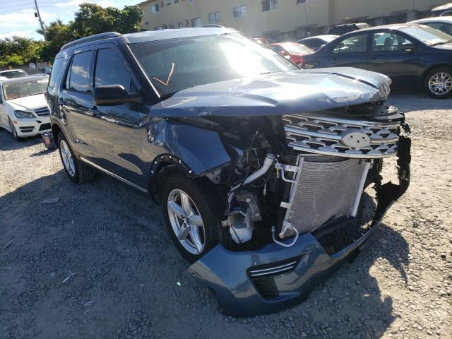 Salvage cars for sale from Copart Opa Locka, FL: 2019 Ford Explorer X