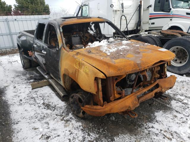 Salvage cars for sale from Copart Courtice, ON: 2013 GMC Sierra K35