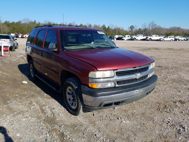 Salvage cars for sale from Copart Charles City, VA: 2002 Chevrolet Tahoe K150