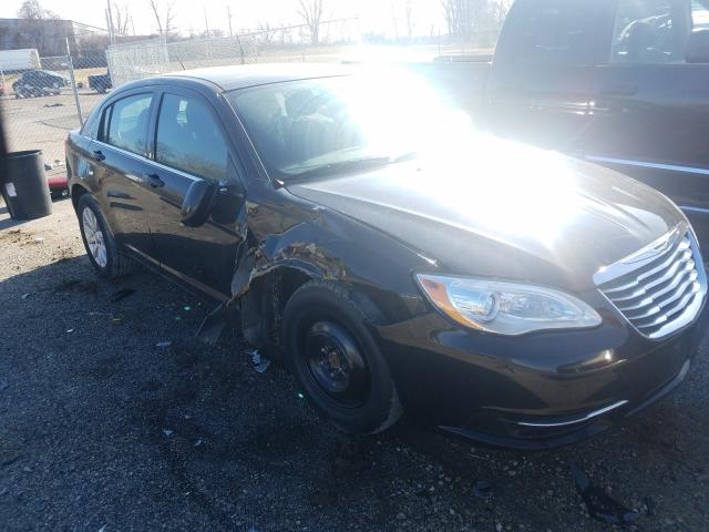 Salvage cars for sale from Copart Bridgeton, MO: 2013 Chrysler 200 Touring