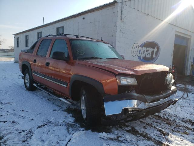 Salvage cars for sale from Copart Hillsborough, NJ: 2004 Chevrolet Avalanche