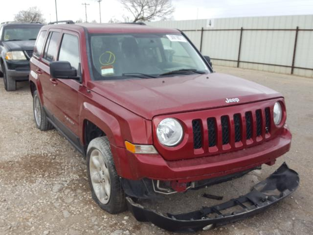 Salvage cars for sale from Copart San Antonio, TX: 2014 Jeep Patriot SP