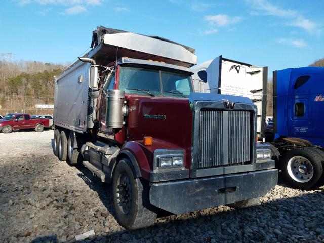 Salvage cars for sale from Copart Hurricane, WV: 2013 Western Star Dumptruck