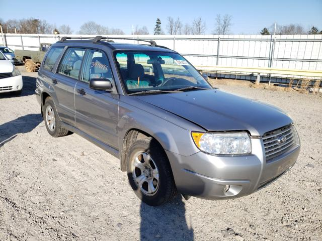 Salvage cars for sale from Copart Chatham, VA: 2007 Subaru Forester 2