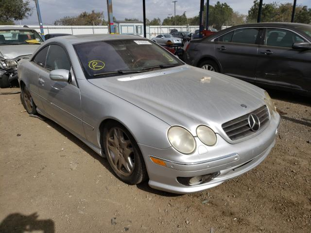 Mercedes-Benz salvage cars for sale: 2002 Mercedes-Benz CL 55 AMG