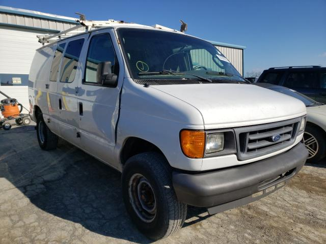 Salvage cars for sale from Copart Chambersburg, PA: 2007 Ford Econoline