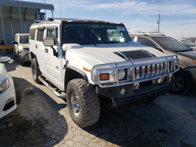 Hummer salvage cars for sale: 2005 Hummer H2