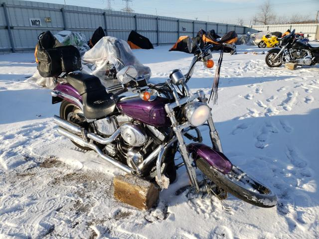 Salvage cars for sale from Copart Elgin, IL: 2000 Harley-Davidson Soft Tail