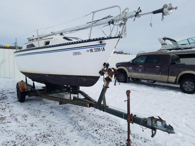 Salvage cars for sale from Copart Avon, MN: 1981 Hunt Sailboat