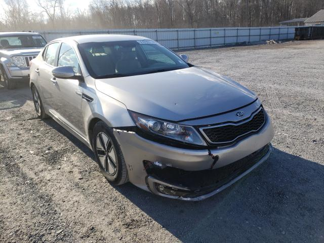 Salvage cars for sale from Copart York Haven, PA: 2013 KIA Optima Hybrid