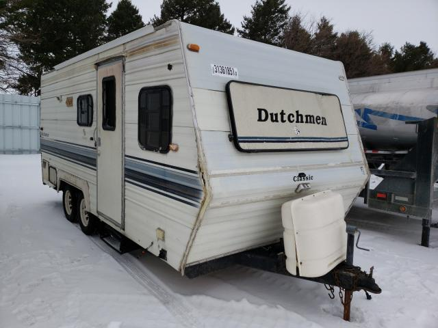 Dutchmen salvage cars for sale: 1991 Dutchmen Classic