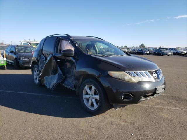 Nissan salvage cars for sale: 2009 Nissan Murano S