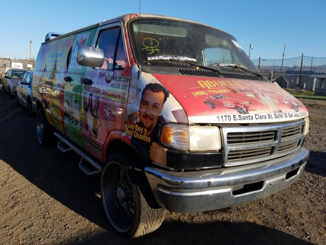 Salvage cars for sale from Copart San Martin, CA: 1996 Dodge RAM Van B3