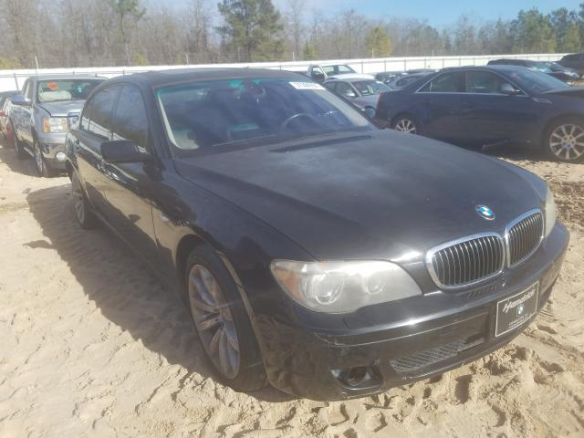 BMW 750 LI salvage cars for sale: 2008 BMW 750 LI