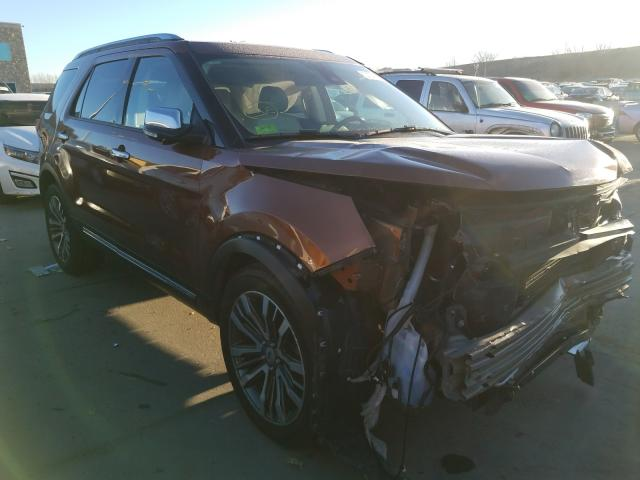Salvage cars for sale from Copart Littleton, CO: 2017 Ford Explorer P