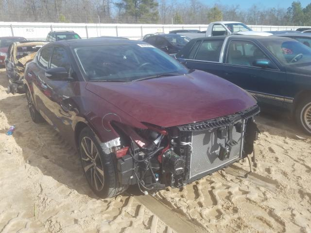 Salvage cars for sale from Copart Gaston, SC: 2019 Nissan Maxima S