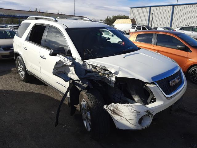 Salvage cars for sale from Copart Las Vegas, NV: 2008 GMC Acadia SLE
