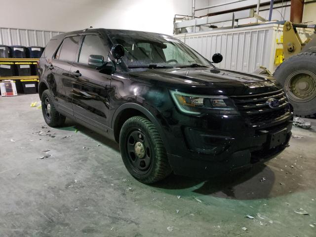 Salvage cars for sale from Copart Albany, NY: 2017 Ford Explorer P