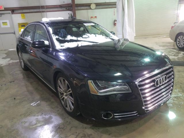 Salvage cars for sale from Copart Leroy, NY: 2012 Audi A8 L Quattro