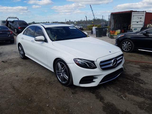 Salvage cars for sale at West Palm Beach, FL auction: 2017 Mercedes-Benz E 300