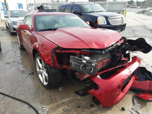 Salvage cars for sale from Copart Montgomery, AL: 2015 Chevrolet Camaro LT