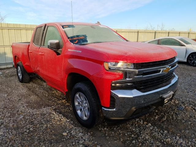 Salvage cars for sale from Copart Kansas City, KS: 2019 Chevrolet Silverado
