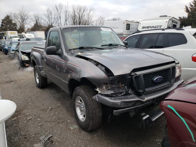Salvage cars for sale from Copart Pennsburg, PA: 2004 Ford Ranger