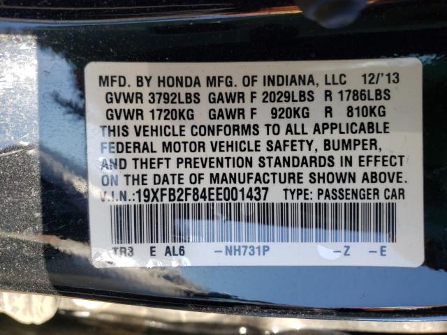 2014 HONDA CIVIC EX 19XFB2F84EE001437