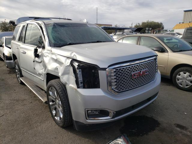 Salvage cars for sale from Copart Las Vegas, NV: 2015 GMC Yukon Dena