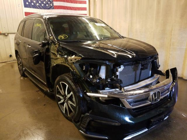 Salvage cars for sale from Copart Avon, MN: 2019 Honda Pilot Elit