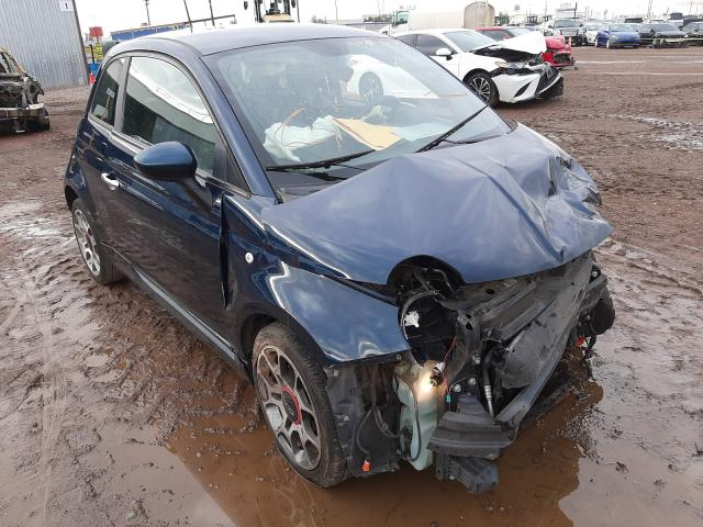 Fiat salvage cars for sale: 2013 Fiat 500
