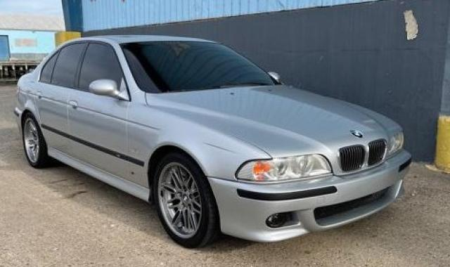 BMW M5 salvage cars for sale: 2002 BMW M5
