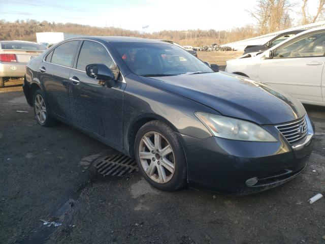 Salvage cars for sale from Copart West Mifflin, PA: 2007 Lexus ES 350