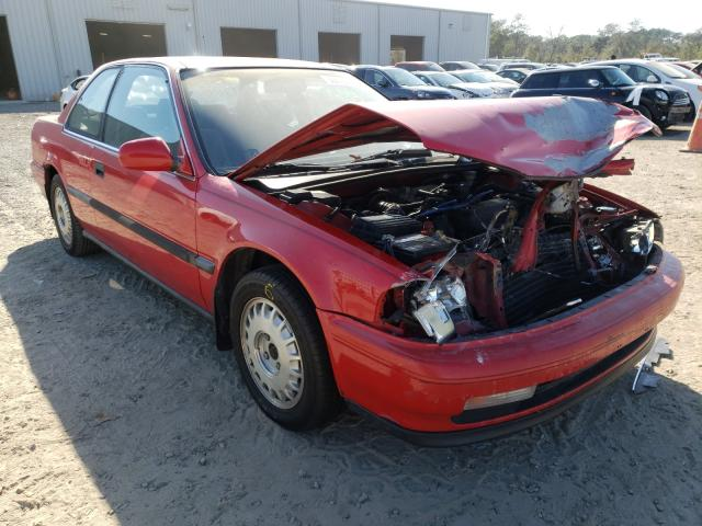 1990 HONDA ACCORD DX - Left Front View Lot 30693821.