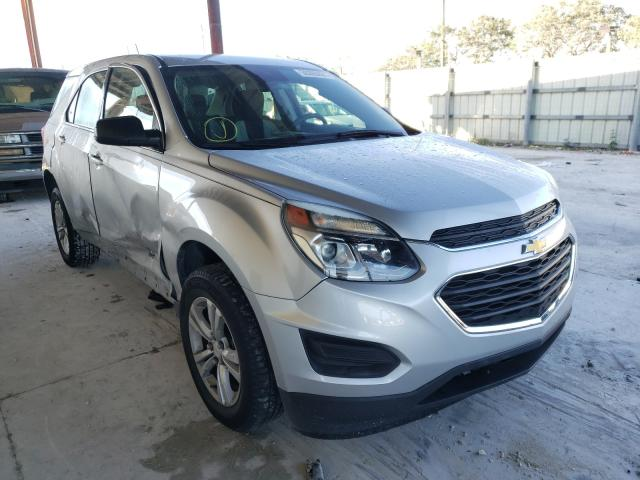 Salvage cars for sale from Copart Homestead, FL: 2016 Chevrolet Equinox LS