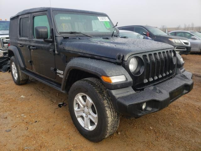 Salvage cars for sale from Copart Bridgeton, MO: 2018 Jeep Wrangler U