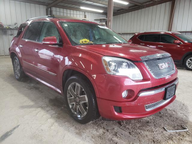 Salvage cars for sale from Copart Temple, TX: 2012 GMC Acadia DEN