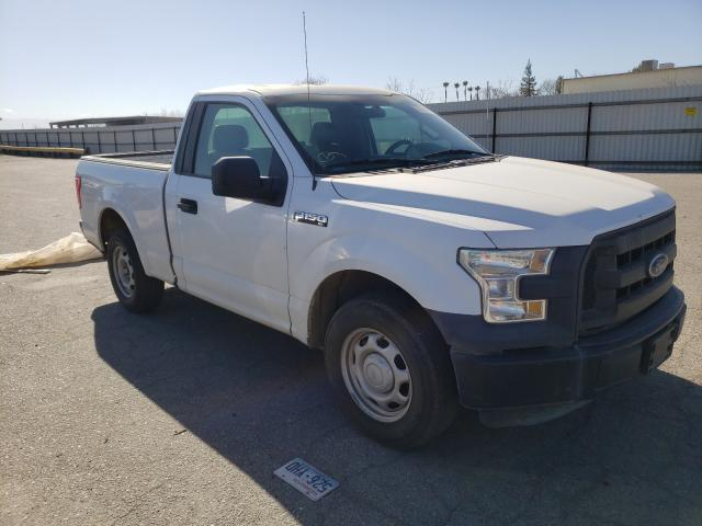 Salvage cars for sale from Copart Bakersfield, CA: 2016 Ford F150